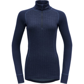 DEVOLD Duo Active Woman Zip Neck Damen Merino Unterwäsche