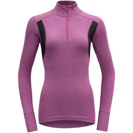 DEVOLD Hiking Woman Half Zip Neck Damen Merino Unterwäsche